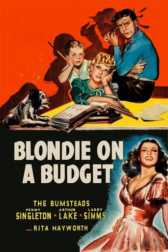 Blondie on a Budget Movie Poster