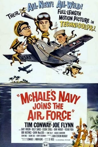 Poster of McHale's Navy Joins the Air Force