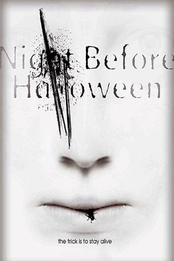 Poster of The Night Before Halloween