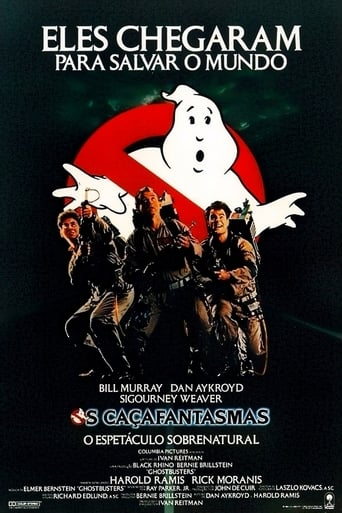 Os Caça-Fantasmas - Poster