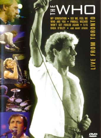 Poster of The Who: Live from Toronto