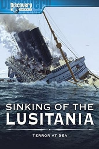 Poster of Sinking of the Lusitania: Terror at Sea