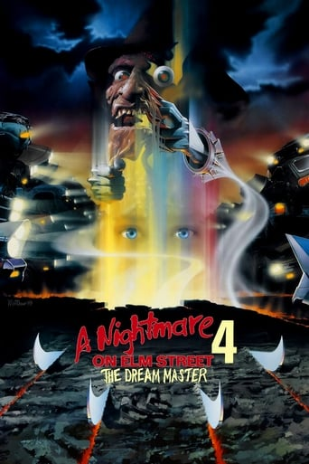 Poster of A Nightmare on Elm Street 4: The Dream Master