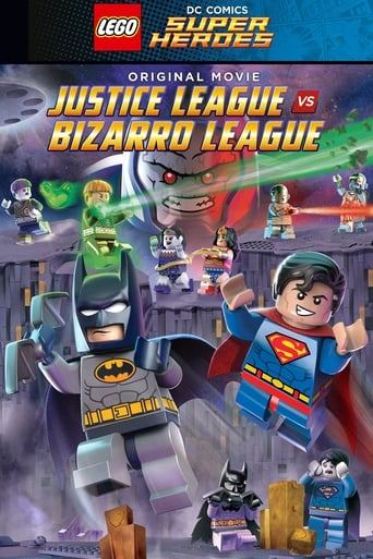 Poster of LEGO DC Comics Super Heroes: Justice League vs. Bizarro League