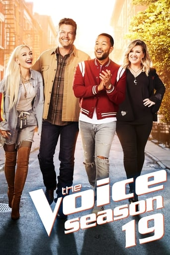 The Voice 19ª Temporada - Poster