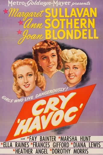 Poster of Cry 'Havoc'
