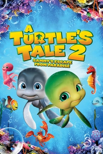 Poster of A Turtle's Tale 2: Sammy's Escape from Paradise