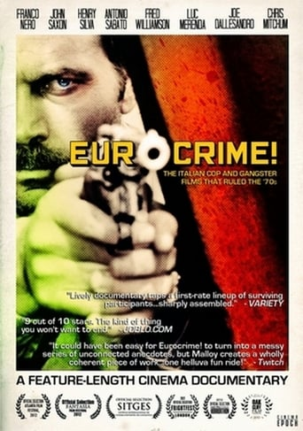 Poster of Eurocrime! The Italian Cop and Gangster Films That Ruled the '70s