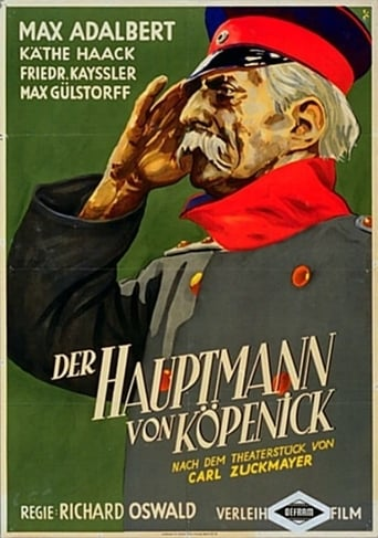 Poster of The Captain from Köpenick