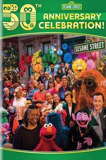 Poster of Sesame Street's 50th Anniversary Celebration