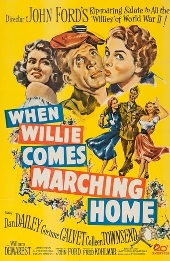 Poster of When Willie Comes Marching Home