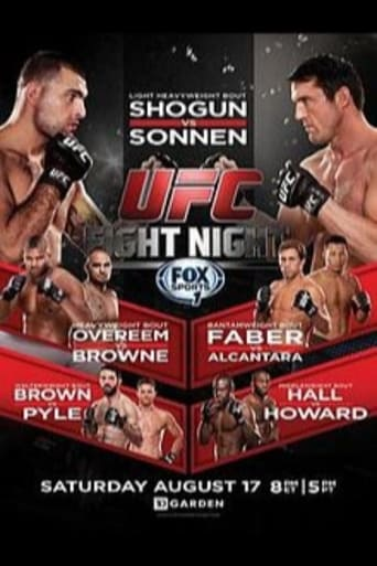 Poster of UFC Fight Night 26: Shogun vs. Sonnen