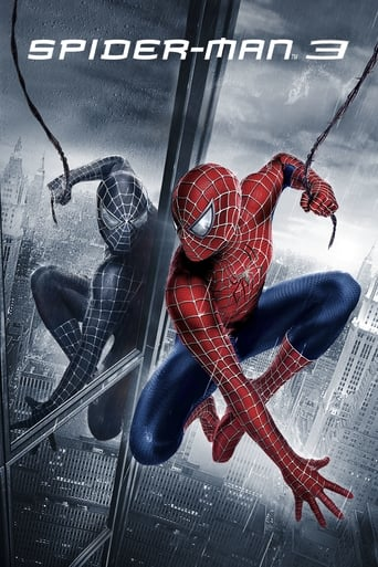 Official movie poster for Spider-Man 3 (2007)