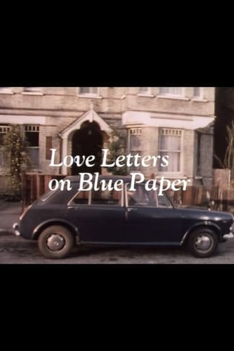 Poster of Love Letters on Blue Paper