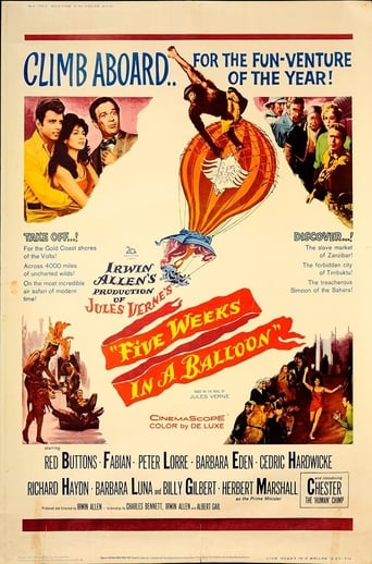 Poster of Five Weeks in a Balloon