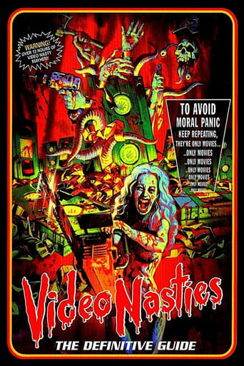 Poster of Video Nasties - The Definitive Guide - The Final 39