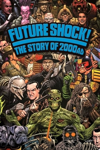 Poster of Future Shock! The Story of 2000AD