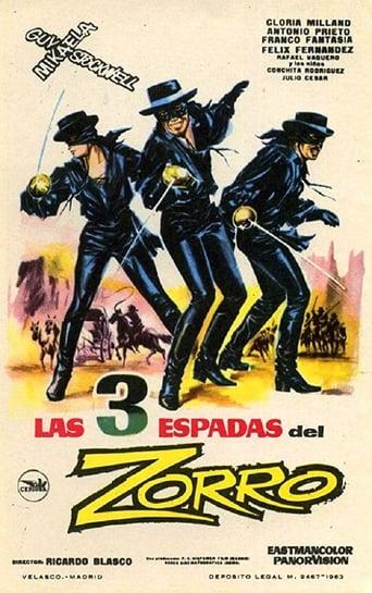 Poster of Le tre spade di Zorro