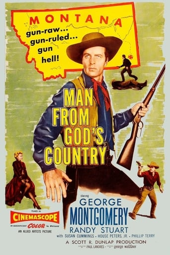 Poster of Man from God's Country