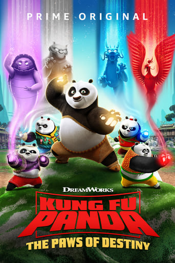 Poster of Kung Fu Panda: The Paws of Destiny