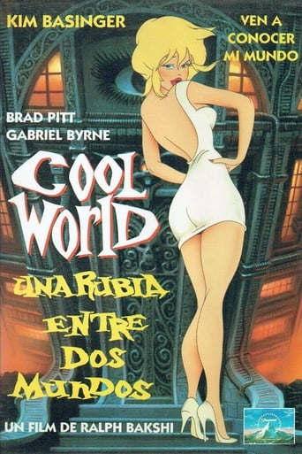 Poster of Cool world (Una rubia entre dos mundos)