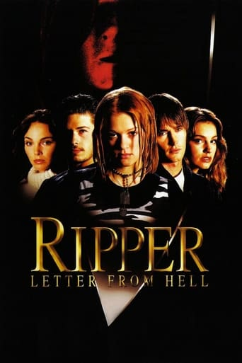 Poster of Ripper: Letter from Hell