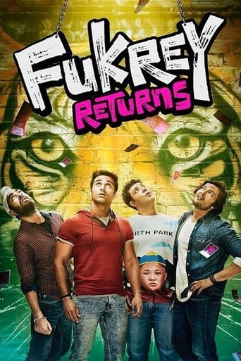 Poster of Fukrey Returns