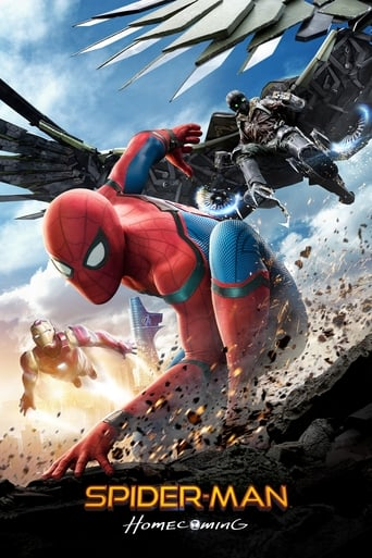 Official movie poster for Spider-Man: Homecoming (2017)