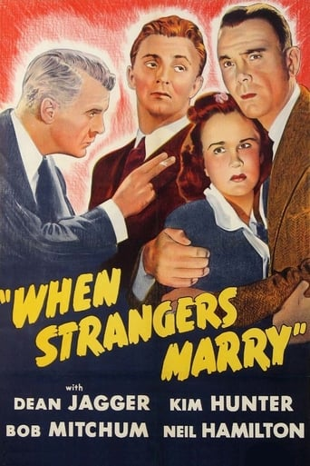 Poster of When Strangers Marry