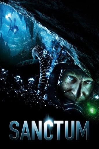 Filmplakat von Sanctum