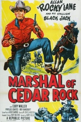 Poster of Marshal of Cedar Rock