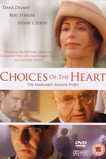 Poster of Choices of the Heart: The Margaret Sanger Story