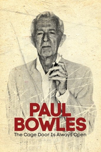 Poster of Paul Bowles: The Cage Door Is Always Open