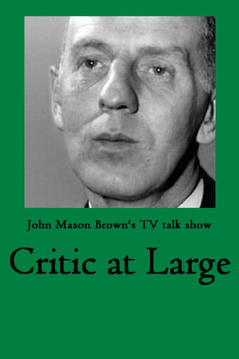 Poster of Critic at Large