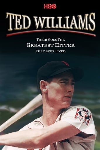 Poster of Ted Williams: There Goes the Greatest Hitter That Ever Lived fragman