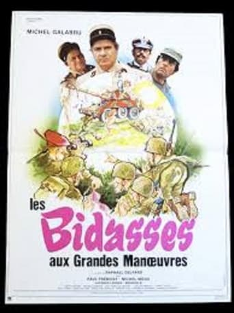 Poster of Les bidasses aux grandes manoeuvres