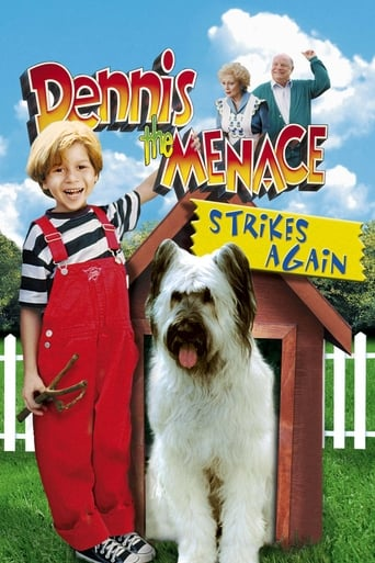 Poster of Dennis the Menace Strikes Again!