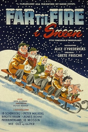 Poster of Father of Four: In the Snow