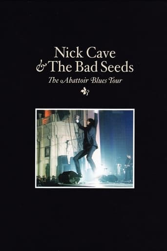 Poster of Nick Cave & The Bad Seeds: The Abattoir Blues Tour