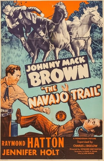Poster of The Navajo Trail