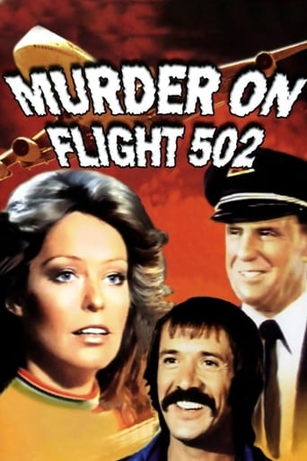 Poster of Murder on Flight 502