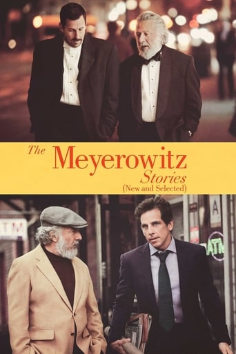 Official movie poster for The Meyerowitz Stories (New and Selected) (2017)