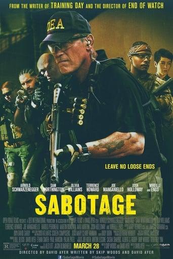 Poster of Sabotage