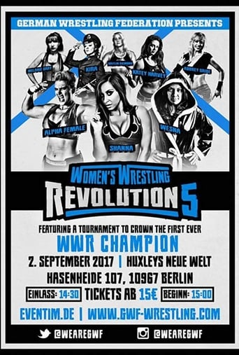 GWF Women's Wrestling Revolution 5 Movie Poster