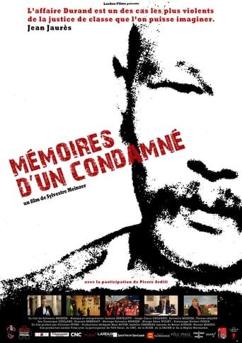 Poster of Mémoires d'un condamné