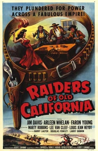 Poster of Raiders of Old California