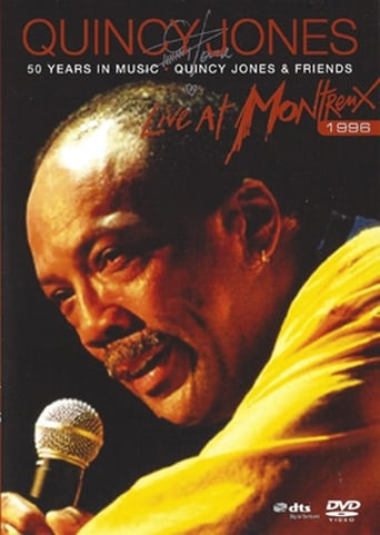 Poster of Quincy Jones: 50 Years in Music - Live at Montreux