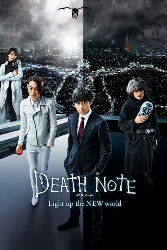 Poster of Death Note: Light Up the New World