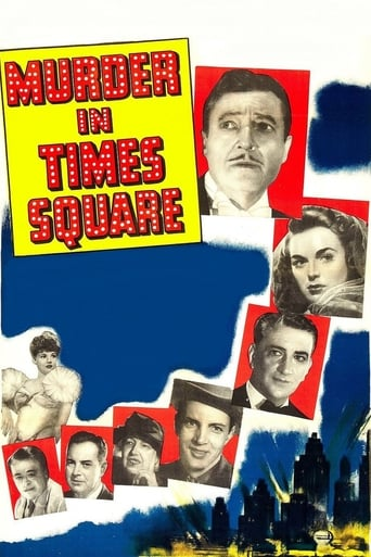 Poster of Murder in Times Square
