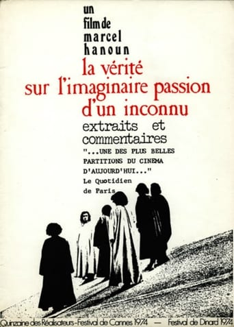 Poster of The Truth About the Imaginary Passion of an Unknown